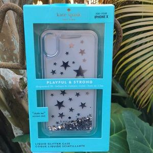 NWT Kate Spade iPhone X Cell Phone Case